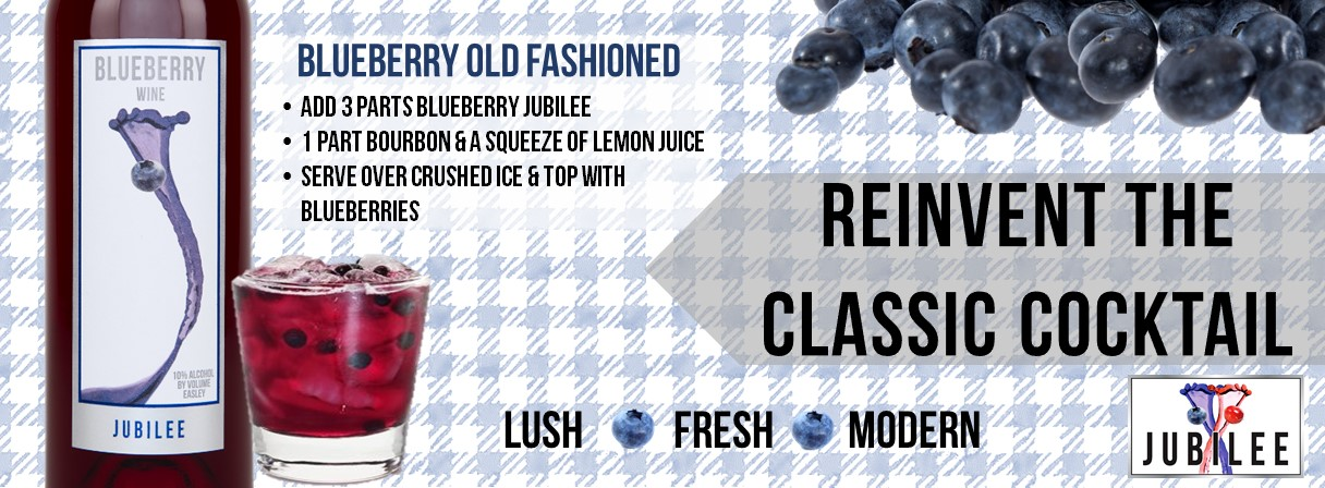 Blueberry Jubilee-Reinvent a Classic Cocktail