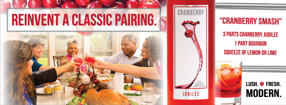 Cranberry Jubilee Wines – Reinvent a Classic Pairing