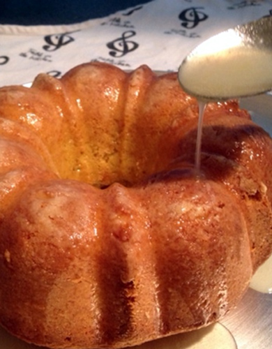 Bundt Cake Made With White Wine From Scratch