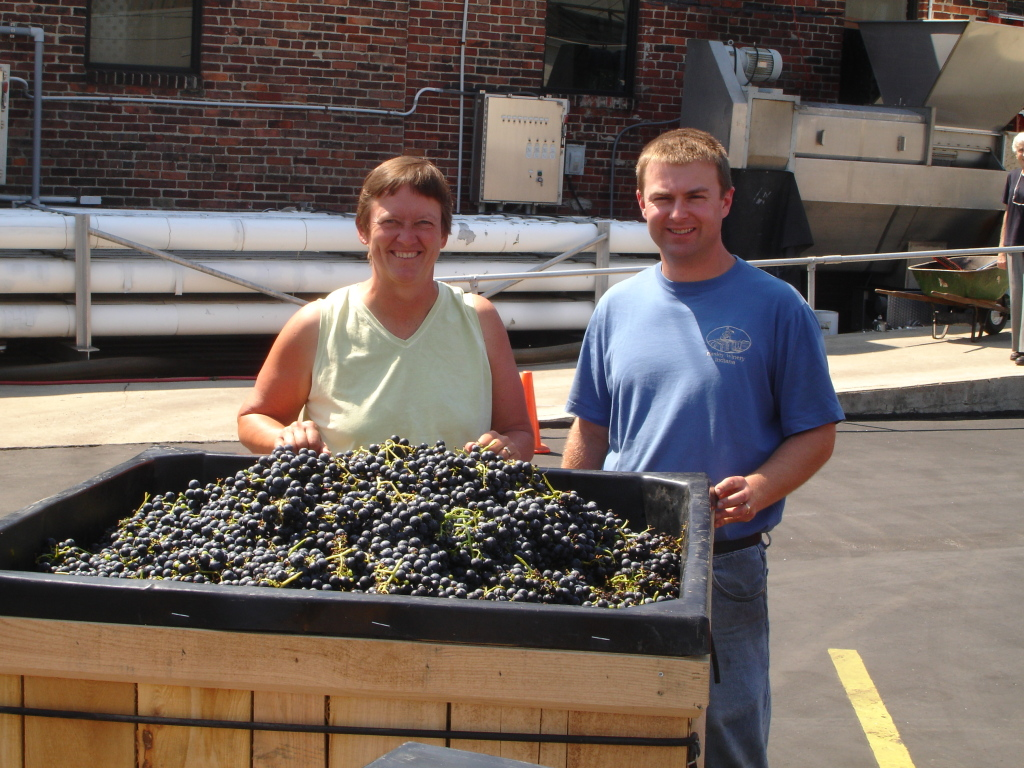 Harvest & Grape Delivery